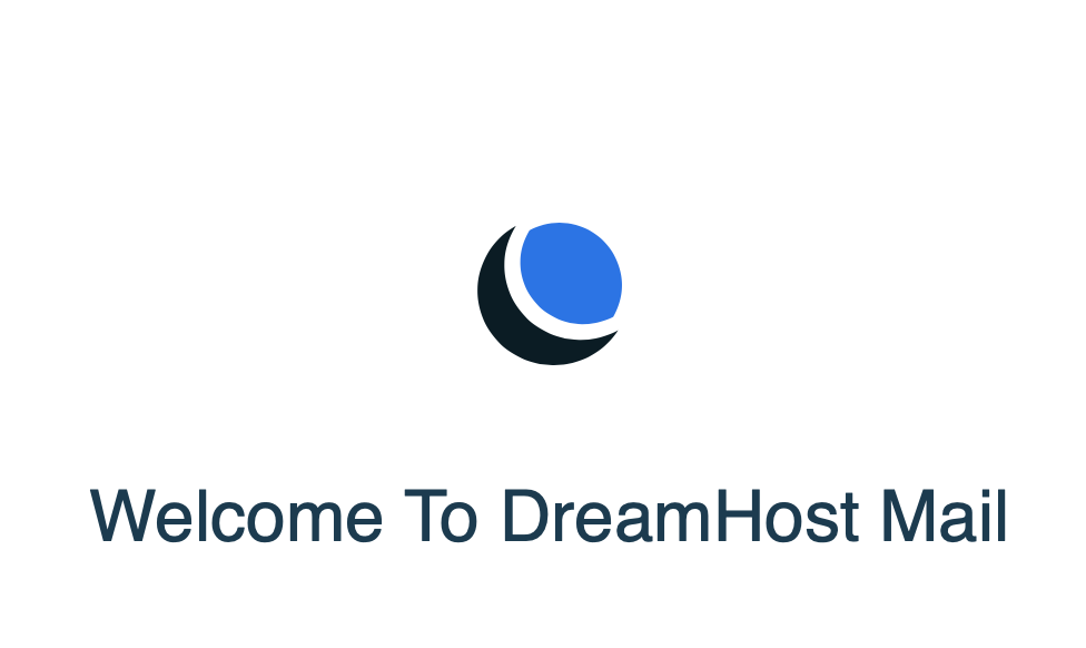 DreamHost web mail